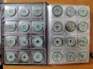 120 pcs ( S) chinese different year bronze Coins , random sent