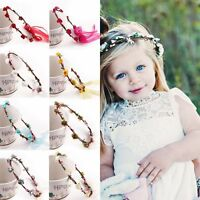 Cute Baby Infant Princess Flower Girl Hair Band Fashion Flower Headband Headwear