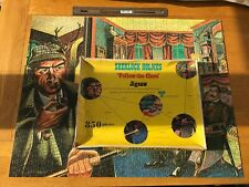 Sherlock Holmes  Follow The Clues Original 1970 Jigsaw Puzzle COMPLETE IPC