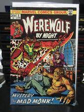 Werewolf By Night #3 Comic Lower  Grade