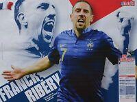 FRANCK RIBERY - A2 Poster (XL - 42 x 55 cm) - Fußball Clippings Fan Sammlung NEU