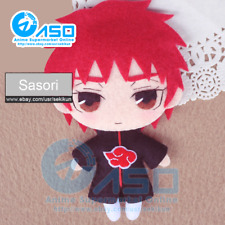 Anime Naruto Akasuna no Sasori Handmade Toy Keychain Bag Hanging Plush Doll Gift