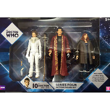 Doctor Who Tenth Doctor Series Four Companions 3 Pack Action Figures NEW Toys