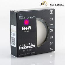 Brand New B+W 49mm E49 MRC Nano UV-Haze 010M XSP 1066114 filter for Leica Q