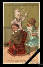 Original French Victorian Trade Card: Early 1900's Guerin Boutron Paris France