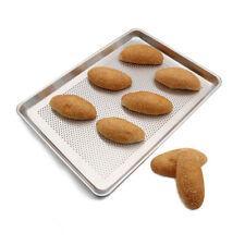 12 Pack  Perforated Half Sheet Pan For Baking Medium Size Bakery Tray Baking Pan