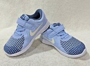 Nike Revolution 4 (TDV) Royal Tint/White Girl's Toddler Sneakers-Sz 6/7/8/9/10C