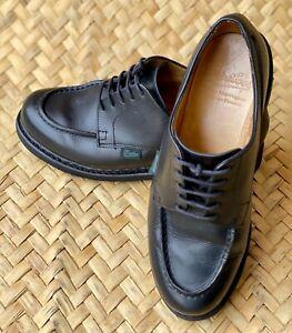 PARABOOT CHAMBORD Men's Black Derby Leather Shoes Size - 5 UK F | 6 US | 39 EU