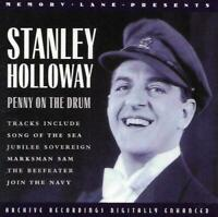 NEW Stanley Holloway - Penny On The Drum (2008 CD Album)