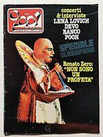 RARO CIAO 2001 3-1980 LENA LOVICH - DEVO - POOH - RENATO ZERO - TOTO - BANCO
