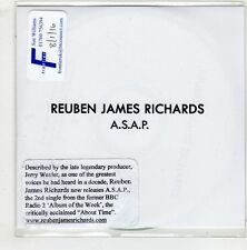 (HA270) Reuben James Richards, A.S.A.P. - DJ CD