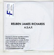 (HA270) Reuben James Richards, A.S.A.P. - DJ CD