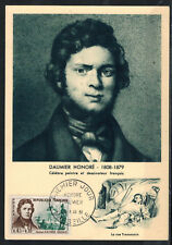 1961-CARTE MAXIMUM**HONORE DAUMIER-PEINTRE CELEBRE-COROT-TIMBRE Yv.1299