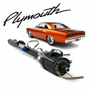 """1962-76 Mopar B E Body  33"""" TILT STEERING COLUMN SHIFT W/ KEY plymouth Hemi SRT"""