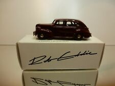 ROBEDDIE MODELS 5 VOLVO PV60 1950 - RED/BROWN  1:43 - EXCELLENT IN BOX