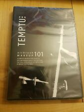 Temptu Pro Airbrush Makeup 101 DVD Complete Introductory Course 2007 NTSC Sealed