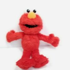 "Sesame Street Place Plush Elmo Plush Stuffed Animal Red Muppet 9"" Soft Toy"