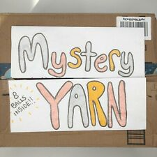 Surprise Yarn Lot! Box Of 6 Balls/Skeins/Cakes Brand New Yarn