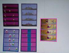 5 cartes postales MORDILLO / VERLAG tendance VIOLET