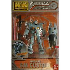 Bandai Gundam Mobile Suit In Action Figure MSIA GM Series #4 RGM-79G GM Custom