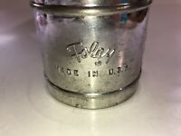 Vintage Foley USA Flour Small Metal Sifter See Pics, Great Decor!