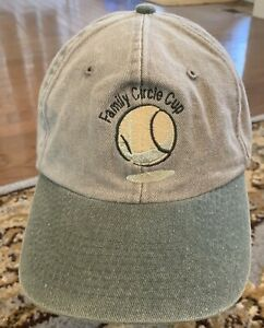 Family Circle Cup HAT Tennis ADJUSTABLE