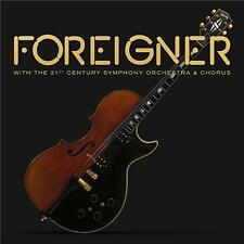 FOREIGNER WITH THE 21st CENTURY SYMPHONY ORCHESTRA & CHORUS CD & DVD 0 NTSC NEW