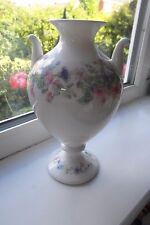Wedgwood Angela Urn Vase 22 cm Tall Floral 1st Quality Bone China British