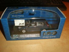 Minichamps 1/43 Ford Fiësta 2002 5-door darkblue  MIB   100 Years Ford