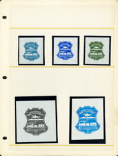 Great Britain Stamps Scarce Lot of 12x 1971 Emergency Postal Strike Issues Vf