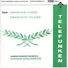TELEFUNKEN SMA-29 UK HAYDN Symphonies 101 85 KEILBERTH Maroon/Silver GRVD $4 S&H