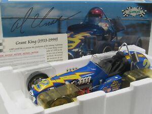 GMP Al Unser Johnny Lightning 4-Cam Ford Dirt Champ Sprint Car 1:12 Scale #7901