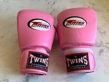 Twins 10oz Muay Thai Boxing Gloves Kickboxing (like Fairtex,windy,boon)Pink Mma