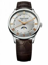 Maurice Lacroix Herren Uhr Masterpiece Phase de Luna MP6607-SS001-111-2