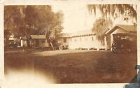 Antique House and Car Real Photo Postcard RPPC B11