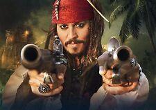Piratas Del Caribe Cartel De Tela posicional A3 re