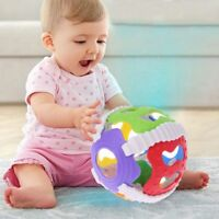 Baby Hand Bell Toy Rattle Sound Grasp Ball Finger Activity Educational Toy a