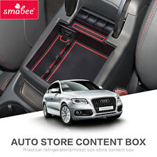 Car Central Armrest Box storage box For AUDI Q5  2009to2017 Interior Accessories