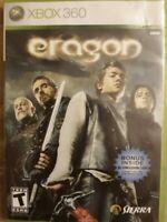 Eragon (Microsoft XBOX 360, 2006) Game Disc & Case Tested
