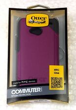 NEW Purple OtterBox Commuter Case for HTC One