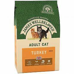 JAMES WELLBELOVED Adult Cat Turkey & Rice - 300g - 431835