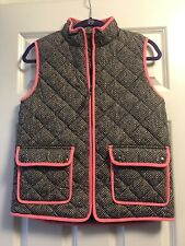 Crew Cuts Vest SIZE 14 (girls) Herringbone puffer