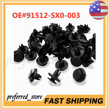 100X NEW FENDER LINER CLIPS PUSH RETAINER FOR HONDA CIVIC ACCORD ACURA INTEGRA