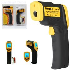 Infrared Temperature Gun Thermometer Digital Thermal Heat With Sensor Laser