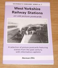 West Yorkshire Railway Stations On Old Picture Postcards by Norman Ellis Book