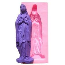 Mary Praying Woman Lady  Silicone Mold for Fondant, Gum Paste, Chocolate, Crafts