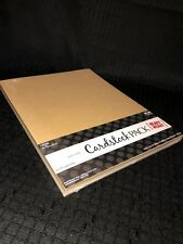 """5 Color HEAVY Cardstock Paper 8.5"""" x 11 PAPER STUDIO 50 Sheets Solid Card Stock"""