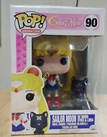 Funko Pop Sailor Moon With Moon Stick And Luna