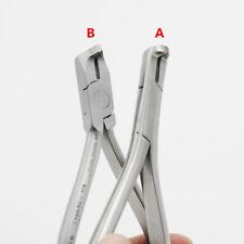 2Types Dental Plier Distal End Cutter Dentist Orthodontic Pliers