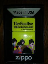 Zippo The Beatles Yellow Submarine Lighter 1999! Rare+NEW SEALED!